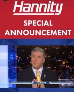 Hannity will be interviewing Trump on Monday