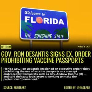 Florida Gov. Ron DeSantis (R) signed an executive order Friday prohibiting the u