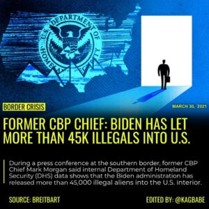 Read more about the article Former Customs and Border Protection (CBP) Chief Mark Morgan says  Joe Biden's a