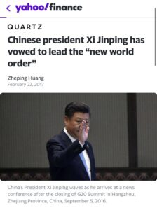 Read more about the article Chinese president Xi Jinping has vowed for the first time that China should take