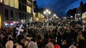 Read more about the article BREAKING! Montreal, Canada: Protests erupt in Montreal, due to harsh lockdowns a