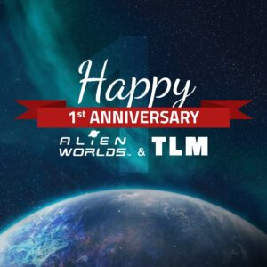 Read more about the article Today is the first anniversary of alien.worlds and Trilium! Time flies when you'