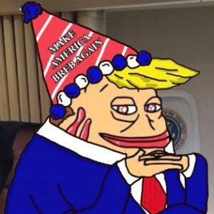 Read more about the article NEW FREN ALERT BRUMF AKA BREB TRUMP
