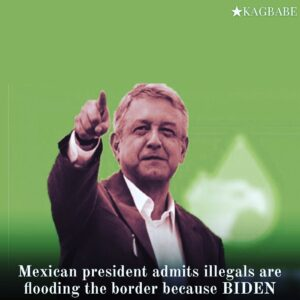 The president of Mexico, López-Obrador, admitted yesterday in a press conference