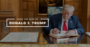 Read more about the article NEW: Trump launches communications platform called 'From the Desk of Donald J. T