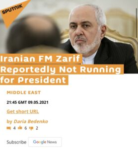 Read more about the article BREAKING: Iranian FM Zarif not running for President following audio leaks now u