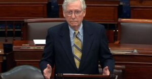 Read more about the article McConnell to speak at Senate hearing, sign of GOP opposition to Dems' sweeping voting reform bill