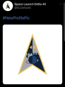 Read more about the article Space Force's 45th Space Wing changed its name & logo today.  Space Launch Delta