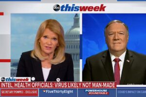 Read more about the article Over a year ago, I told @MarthaRaddatz that the Wuhan Virus most likely came fro