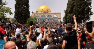 Israel, Hamas truce holds overnight, despite protester clash in Jerusalem