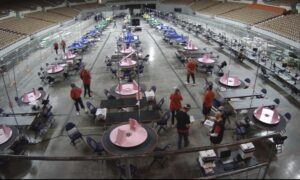 Read more about the article JUST IN – The election audit at the Arizona Veterans Memorial Coliseum is back u