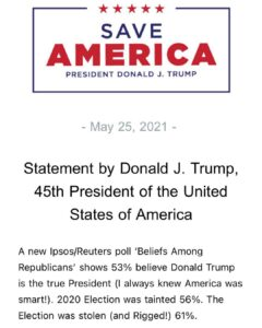 Read more about the article NEW Statement from Trump this morning