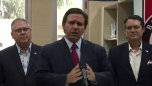 """Read more about the article NEW  Florida Gov. DeSantis says, """"Crazy people are the ones that are vaccinated"""