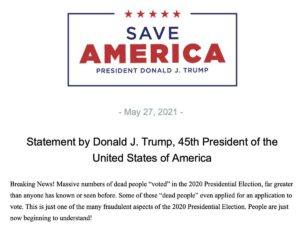 Read more about the article .@POTUS45 on breaking news in America's audits: