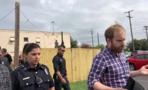 BOOTED! Police Escort Leftist Troll Will Sommer from Dallas Pro-Trump Conference — Crowd Cheers the News!