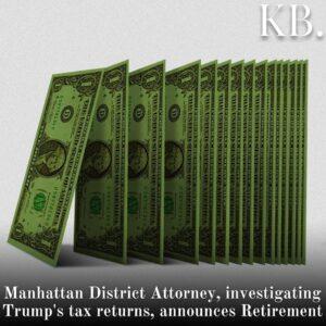 Manhattan District Attorney Cyrus Vance Jr., a longtime foe of former President
