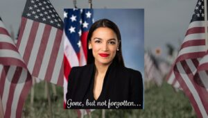 Read more about the article On Memorial Day, America Honors Fallen Soldier AOC For Her Service On January 6t