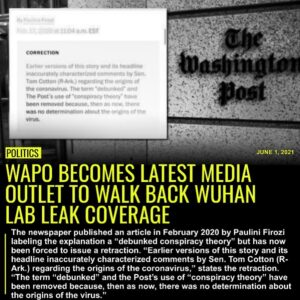 The Washington Post has become the latest media outlet to reverse its earlier in