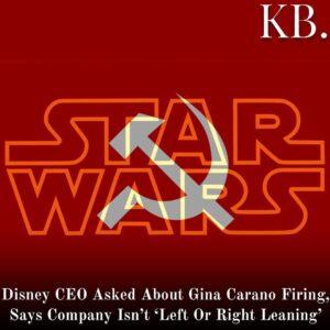 Walt Disney Co. CEO Bob Chapek seemed to reference the recent firing of Mandalor
