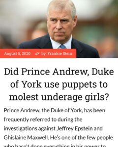 Read more about the article Me and a quantum confident spoke about prince Andrew and a theory that R.L Stine