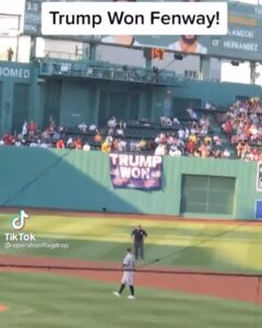 """ICYMI: Don Cini, the man who was removed from Yankee Stadium for hanging a """"Trum"""