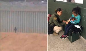 U.S. Border Patrol agents rescued a five-year-old girl from Guatemala after she