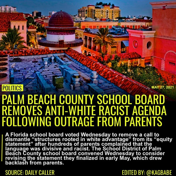 """A Florida school board voted Wednesday to remove a call to dismantle """"structures"""