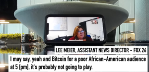 Read more about the article WATCH: FOX26 Reporter Releases Secret Recordings After On-Air Stunt, Says Station Blocked Stories About HCQ, Bitcoin
