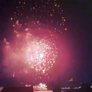 Fireworks in Nyc as the state ends all restrictions.