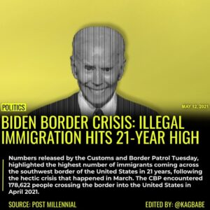 Numbers released by the Customs and Border Patrol Tuesday, highlighted the highe