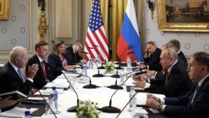 Russia-US Summit Begins in Geneva as Putin, Biden Sit Down to Start Talks