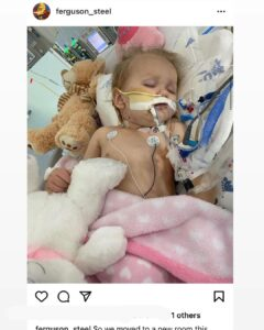 Please pray for this baby that is fighting for her life with a brain injury.