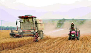To protect the environment, CCP orders to spray water while harvesting wheat – GNEWS