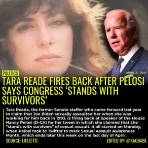 Read more about the article Tara Reade, the former Senate staffer who came forward last year to claim that J