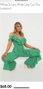 Read more about the article Why is this pose necessary when trying to sell a jumpsuit?
