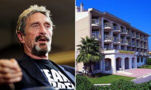 """Read more about the article """"John McAfee's final hideout: Tech outlaw holed up in Spanish 'ghost hotel' with secret Bitcoin mining operation while claiming to be jetting around Europe"""""""