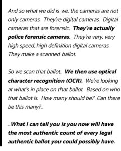 """Read more about the article """"And so what we did is we, the cameras are not only cameras. They're digital ca"""