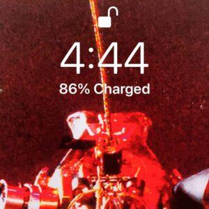 It's 4:44