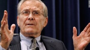 Read more about the article Former Secretary of Defense Donald Rumsfeld Dead at 88