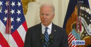 Read more about the article Joe Biden Tries to Inspire Newly Sworn Citizens at Naturalization Ceremony, But Ends Up Making No Sense in Jumbled Word Salad (VIDEO)