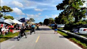 Sarasota, Florida — 24hrs prior to 45's rally at the Sarasota Fairgrounds. Watch