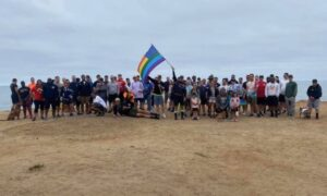Read more about the article Navy Brass Forces Maintenance Unit to March with Gay US Flag on Mandatory Hike on the Highway — PHOTOS