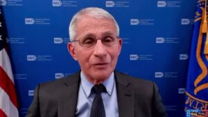 Read more about the article Megalomaniac Fauci Now Says Vaccinated People Still Need to Wear Masks