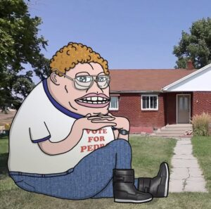 Read more about the article Napoleon Dynamite Groyper   Via @ Gortrog on IG