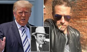 Trump says Hunter Biden is worse than Al Capone and there are more 'crimes on hi