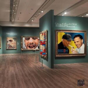 Read more about the article Hunter Biden's Art Exhibit..
