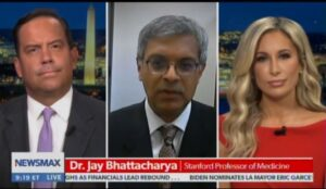 """Read more about the article Stanford Dr. Jay Bhattacharya Calls US COVID Response """"Single Biggest Public Health Mistake in History"""" (VIDEO)"""
