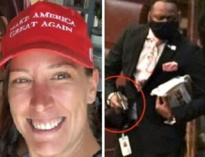 Read more about the article Trump Supporter Charlie Kirk Reveals Lt. Michael Byrd as Shooter of Ashli Babbitt in a TV First (VIDEO)