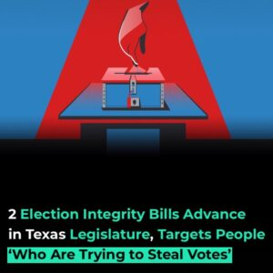 Read more about the article The Texas Legislature moved closer to passing several voting bills that prompted