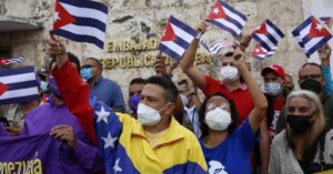 Read more about the article Protests in Cuba die down, amid reports of dozens of people detained, arrested
